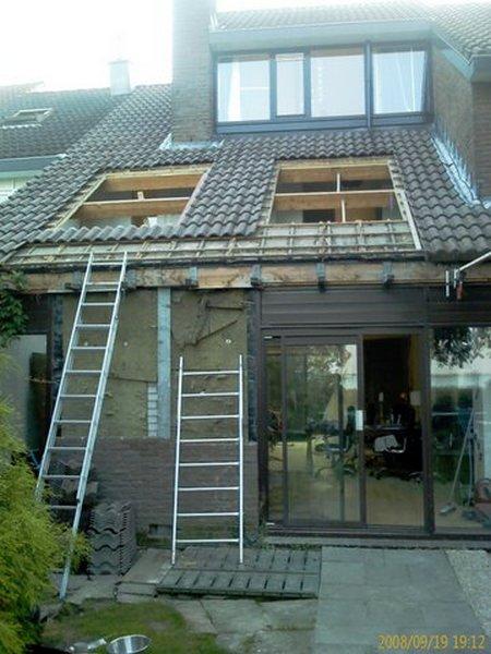 Troost en rutjes bouwbegeleiding troost en rutjes architecten for Glazen uitbouw